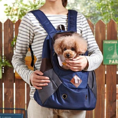 2WAYバックパック 前抱きリュック 犬用